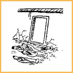 《推背圖》第四十二象 【門外一戰殃內院】